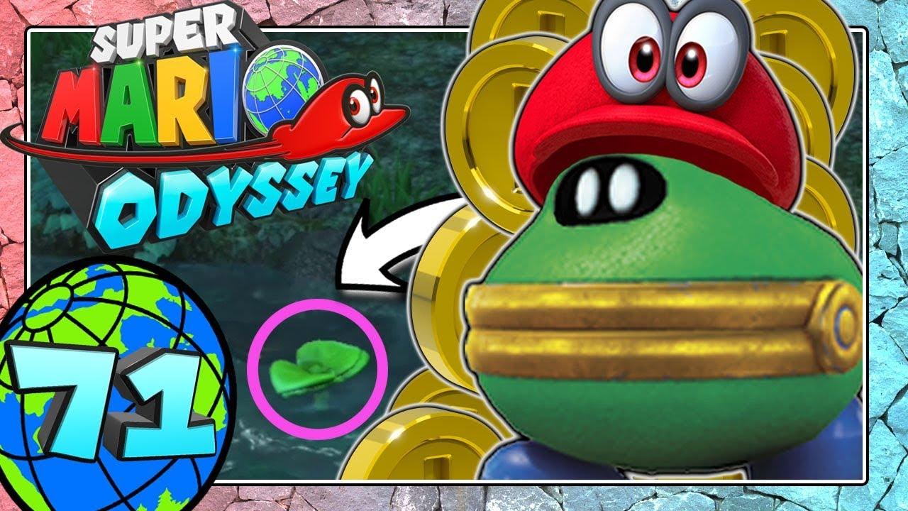 Super Mario Odyssey Part 71 Die Golddigger Pflanze Im Herzen Des