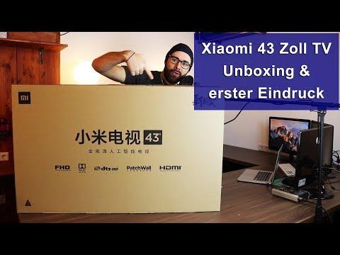 [Xiaomi 43 Zoll TV Mi 4A] Unboxing & erster Eindruck [HD]