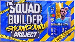 FIFA 19 SQUAD BUILDER SHOWDOWN!!! 94 TOTS BERNADO SILVA!!! The Squad Builder Showdown Project