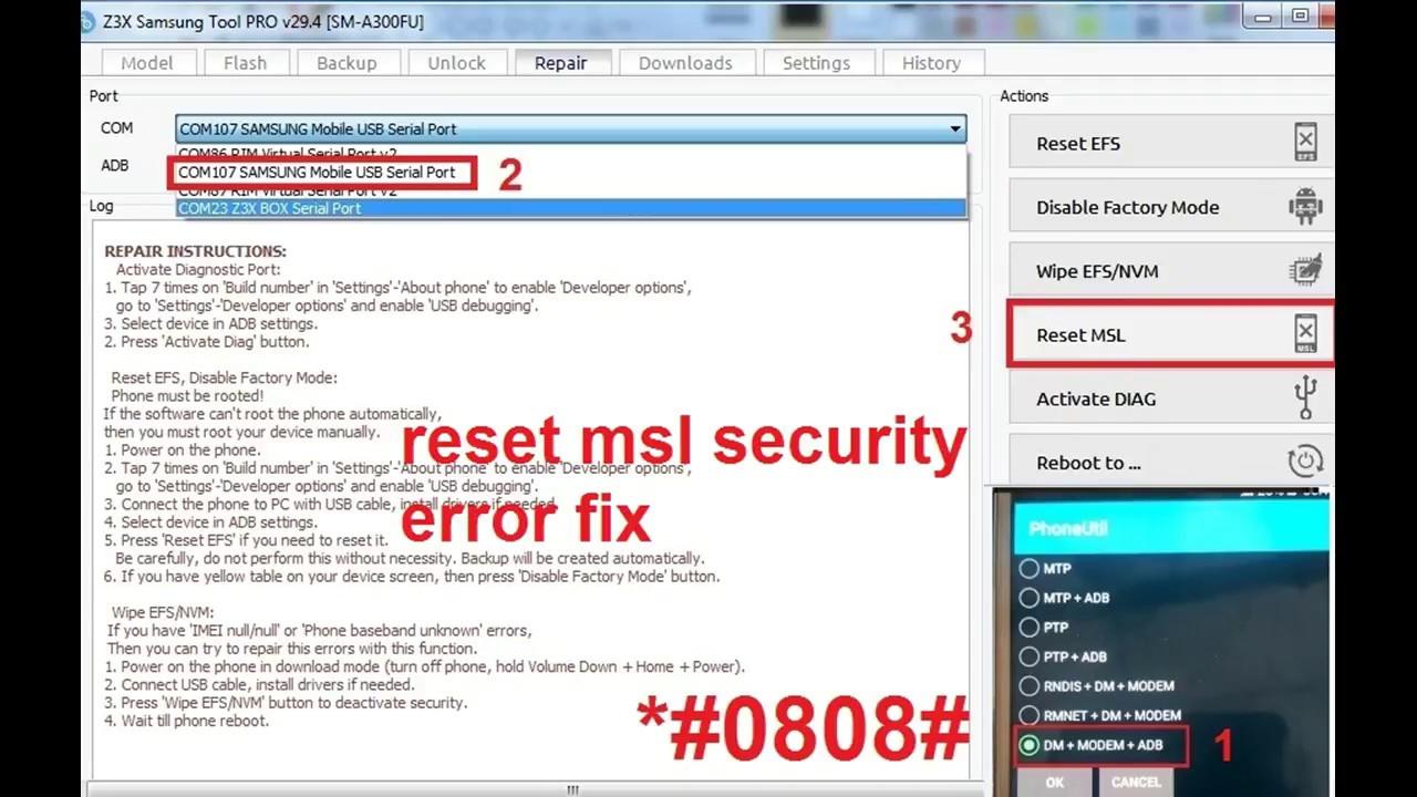 MSL Bypass Error fix
