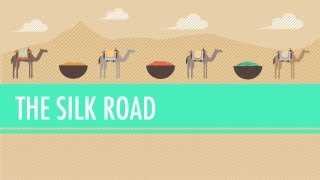 The Silk Road and Ancient Trade: Crash Course World History #9(The Silk Road and Ancient Trade: In which John Green teaches you about the so-called Silk Road, a network of trade routes where goods such as ivory, silver, ..., 2012-03-22T20:02:19.000Z)