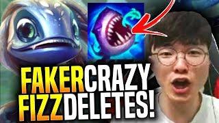 Faker Insane Fizz Deletes! - SKT T1 Faker Picks Fizz Mid! | SKT T1 Replays