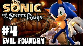 Sonic and the Secret Rings Wii - (1080p) Part 4 - Evil Foundry