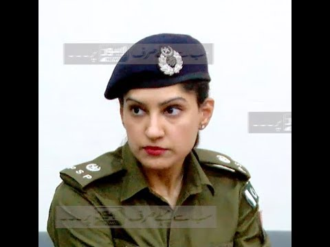 SP Cantt Anush Masood Assures Fool Proof Security At Walled City