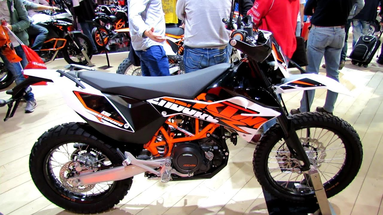 2014 ktm 690 enduro r walkaround 2013 eicma milan. Black Bedroom Furniture Sets. Home Design Ideas