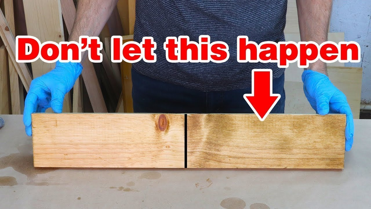 Biggest Wood Staining Mistakes And Misconceptions Wood Staining Basics Youtube