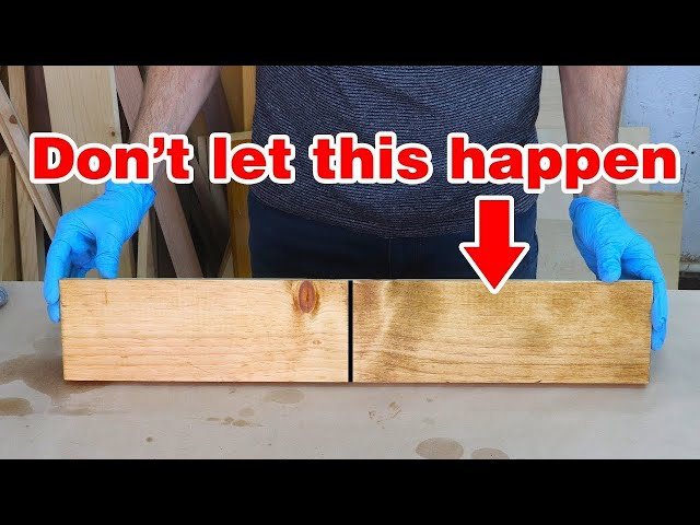 Gest Wood Staining Mistakes And
