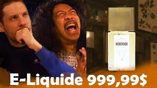 Liquide E-Cigarette à 7€ VS à 999,99$ avec Bun Hay Mean