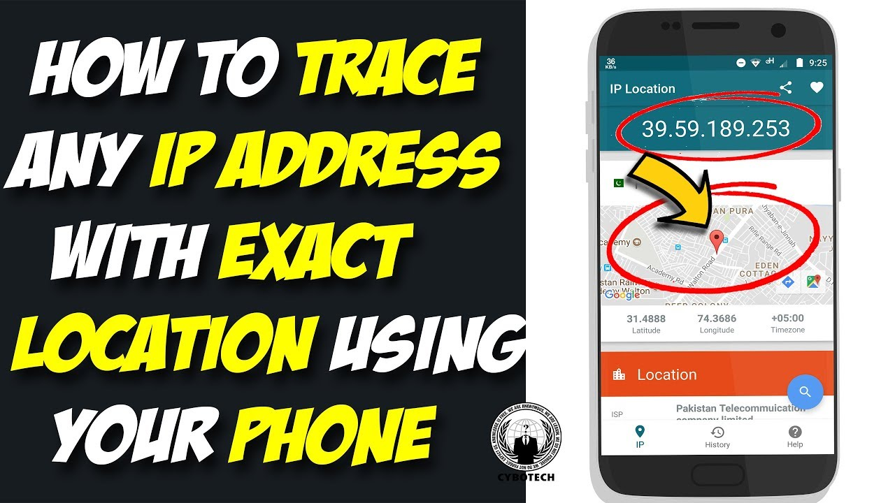 Can you get mobile number from ip address