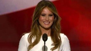 melania trump addresses the republican national convention