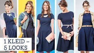 Kombinieren blaues kleid kurz Blaues Cocktailkleid
