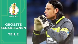 Klatsche in Berlin & 1:6 gegen Amateure! Die größten Sensationen im DFB-Pokal | Teil 2