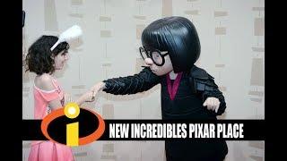 Disney's Hollywood Studios New Incredibles Pixar Place - Meeting Edna Mode