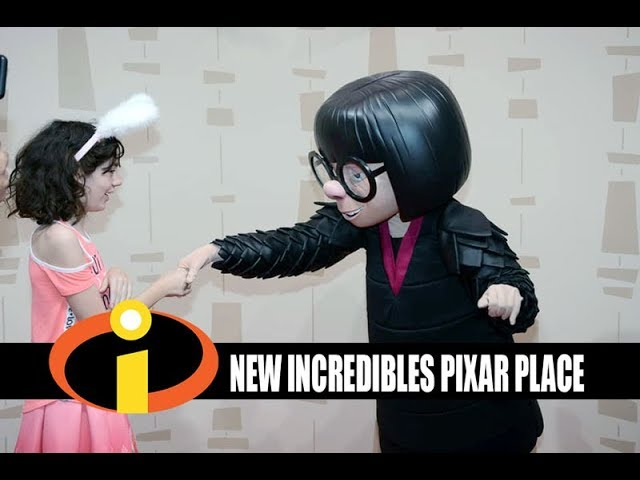 Disney's Hollywood Studios New Incredibles Pixar Place - Meeting Edna Mode