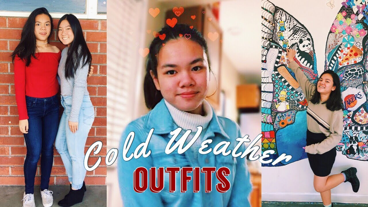 Chilly Weather Outfits for School | Artsy High School OOTW 3