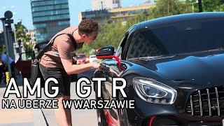 Najszybszy w Polsce - jeździłem AMG GTRem o mocy 770 KM na Uberze w Warszawie !