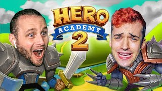 SSUNDEE VS MRCRAINER: WHO IS THE BETTER HERO?! (Hero Academy 2)