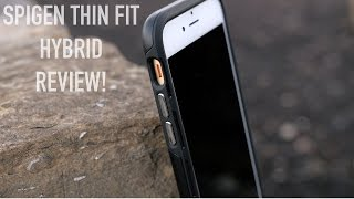 Best Case for iPhone 6s/6s Plus? Spigen Thin Fit Hybrid!