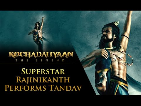 Superstar Rajinikanth performs Tandav