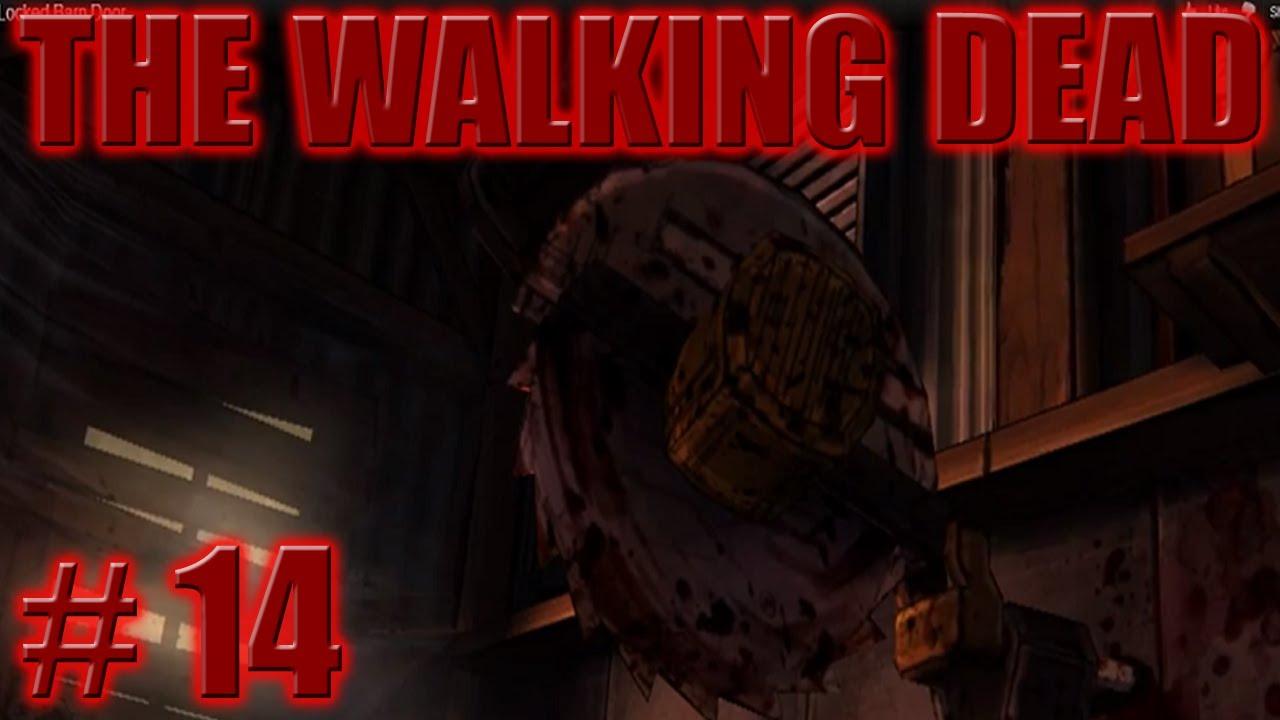 The Walking Dead 14 The Locked Barn Door Youtube