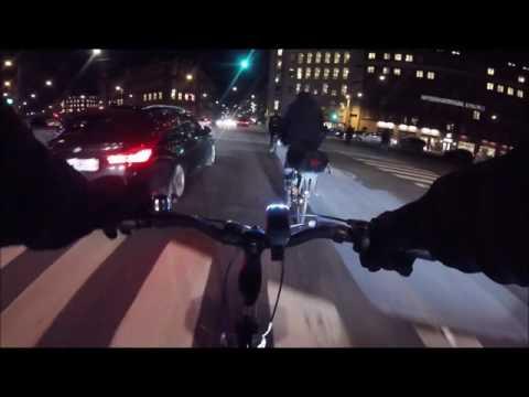 Copenhagen Night Ride