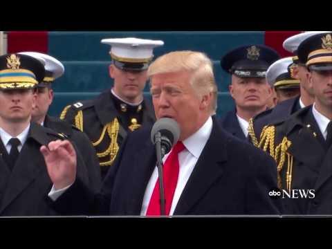 Donald Trump's Inauguration VS Barack Obama's Inauguration