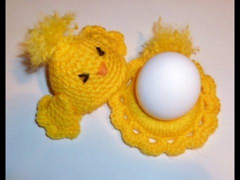 Eierwärmer Küken Häkeln Tischschmuck Eierhalter Eier Ostern