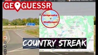 Geoguessr - Country Streak no.383930