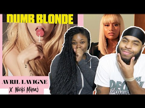 Avril Lavigne feat. Nicki Minaj - Dumb Blonde (Lyric Video) | REACTION!!!
