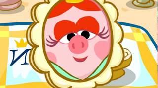 Нюша Принцесса. Смешарики. Урок 3 Секреты кулинара