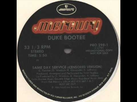 Duke Bootee  - Same Day Service