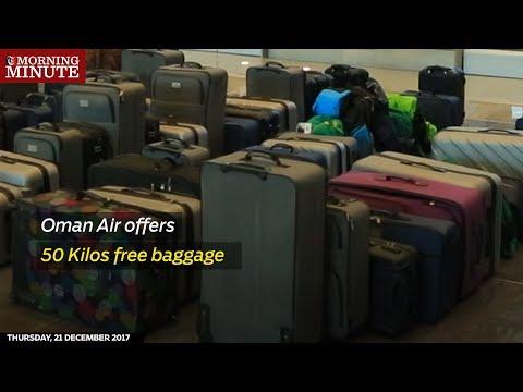 Oman Air offers 50 Kilos free baggage