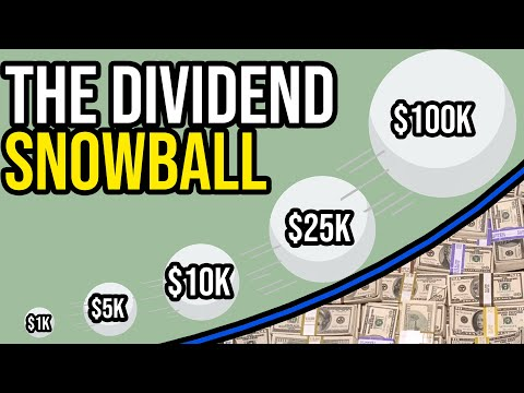 The Power of Dividend Investing   The Snowball Effect