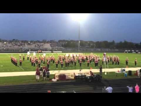Lakeville South high school halftime show part one