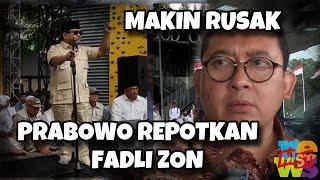 Komunikasi Makin Rusak, Prabowo Repotkan Fadli Zon, Harus Klarifikasi Lagi! Cape Deh!!
