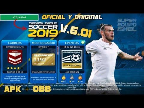 Porfin Oficial Y Original Dream League Soccer 2019 V 6 01 Apk