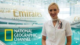 Megalotnisko w Dubaju - Szkolenia stewardessy
