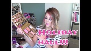 Holiday Haul!! MAC and Sephora Thumbnail