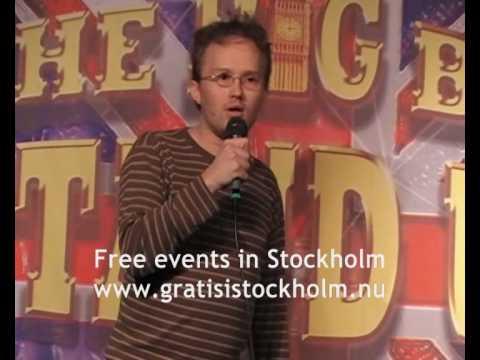 Marcus Johansson - Stand Up Comedy at Big Ben Pub, Stockholm