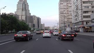 Driving in Moscow - Garden Ring Road 4K