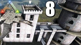 ARK ♠?♠ #008 FLAMMENWERFER & BURGTÜRME VERBINDEN || Ark Survival Evolved German | Ark Deutsch