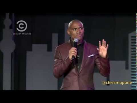 Video (stand up): Chris Mapane at Comedy Central Africa