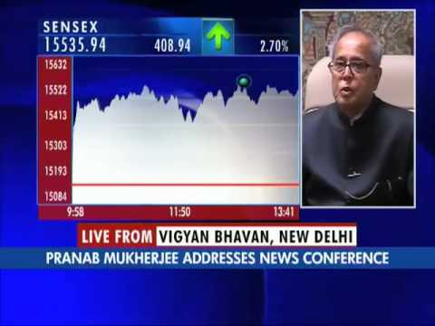Sensex On A One Year High