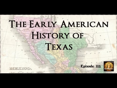 115 Andrew Torget, The Early American History of Texas