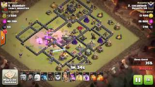 Clash of clans:Novo cla revolts sA pts do clã mais top do mundo.