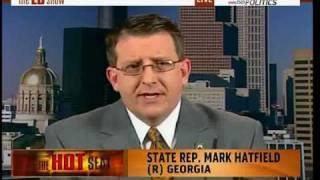GA State Rep Mark Hatfield Birther crazy.wmv