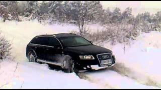 Audi A6 Snow Test S-Line 3.0 TDI Quattro ( 300 PS )