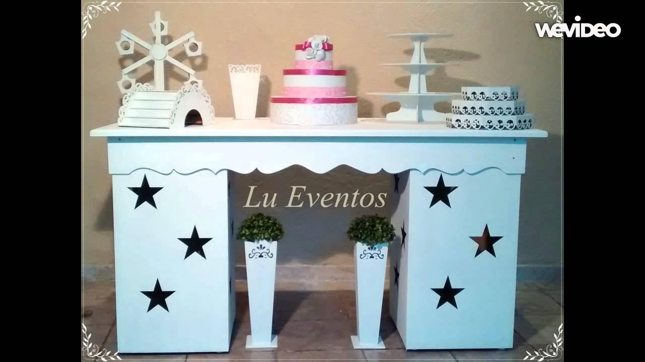 Aluguel de mesa provençal e decoraç u00e3o Zona Leste YouTube