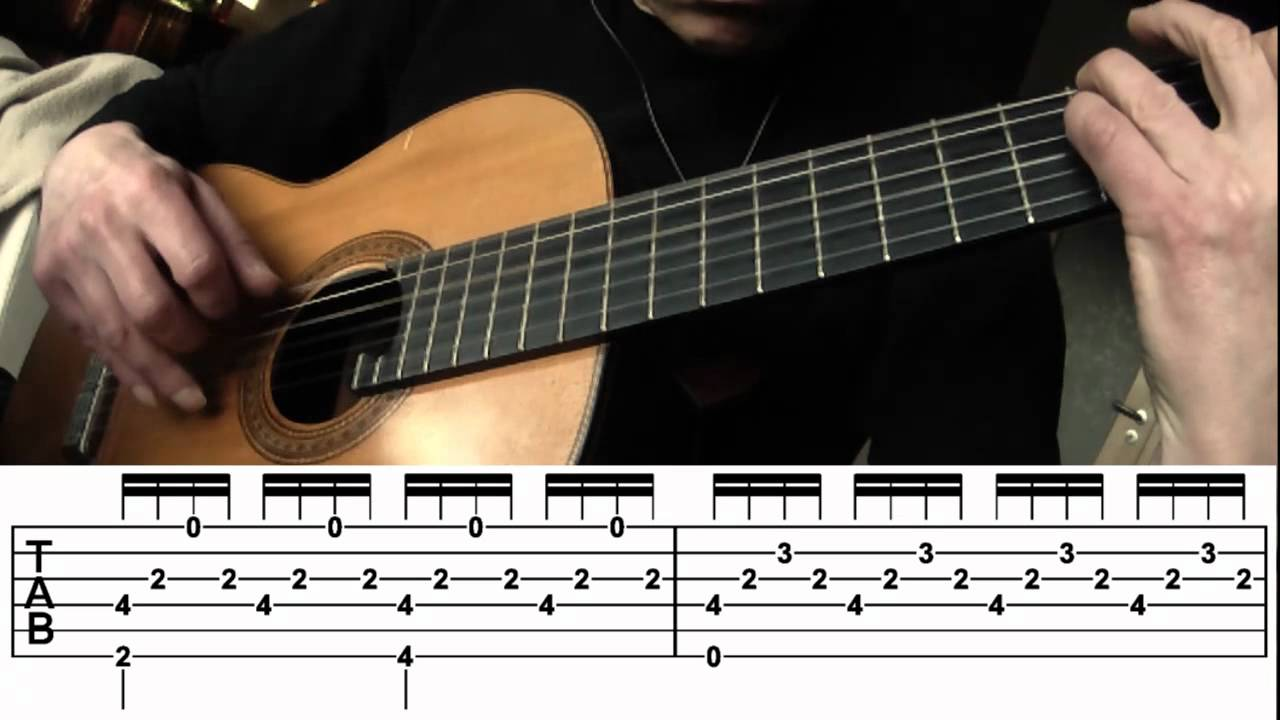 "Adele ""Someone Like You"" guitar chords w TABs (note-for ..."