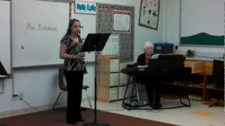 Darian Performing Mozart